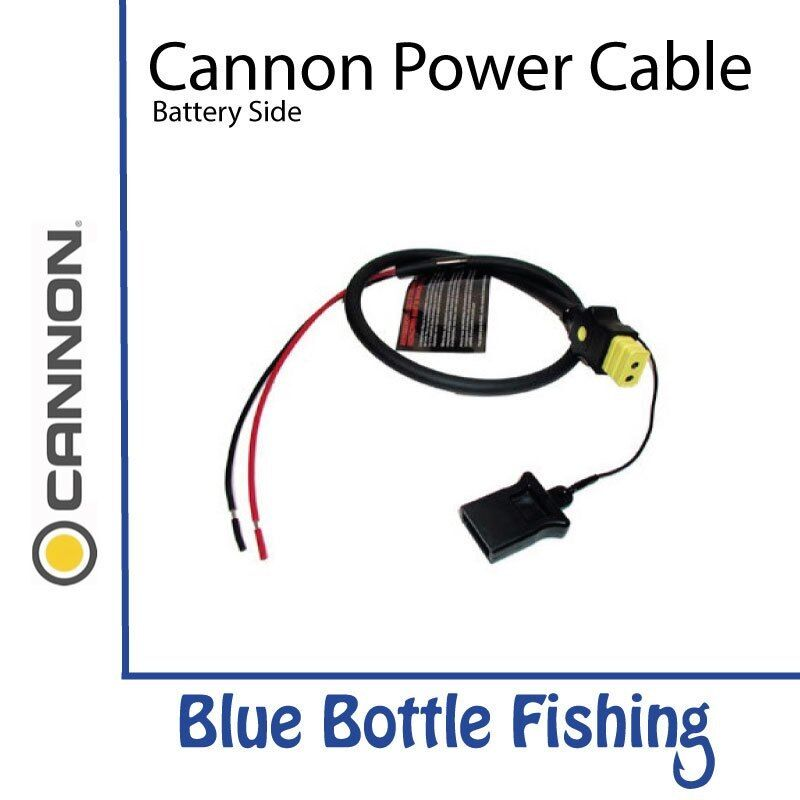 NEW Cannon Downrigger Power Cable -  Battery Side from bluee Bottle Marine