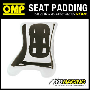 KK036 OMP KART 5 PIECE 8mm FOAM PADDING KIT PRE-CUT PADS FOR PLASTIC KART SEAT
