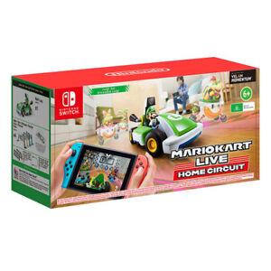 Mario Kart Live Home Circuit Luigi Set Switch Game NEW