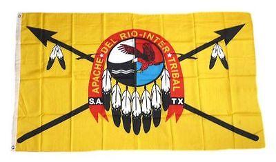 Fahne / Flagge Indianer - Apachen NEU 90 x 150 cm