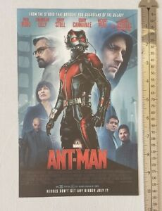 Ant-Man-Movie-RARE-Print-Advertisement