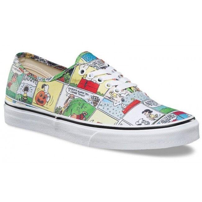 Vans x PEANUTS Comics   Uomo Schuhes (NEW) Authentic   SNOOPY Charlie Braun FREE SHIP b230a8