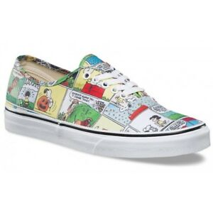 7e6690fb5f Vans x PEANUTS Comics Mens Shoes (NEW) Authentic SNOOPY Charlie ...