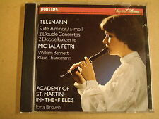 CD PHILIPS / TELEMANN - SUITE A MINOR & 2 DOUBLE CONCERTOS / IONA BROWN