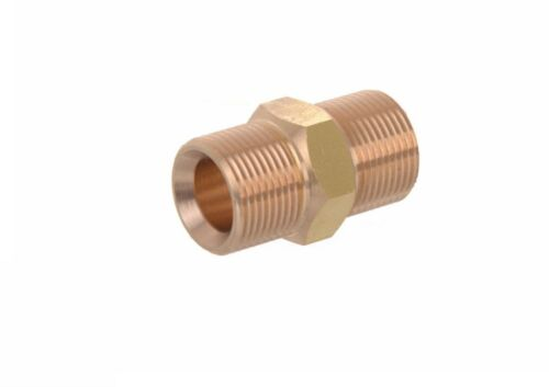 Pressure Washer Jet Wash M22 Male Hose Joining Connection Adaptor New 15mm Bore