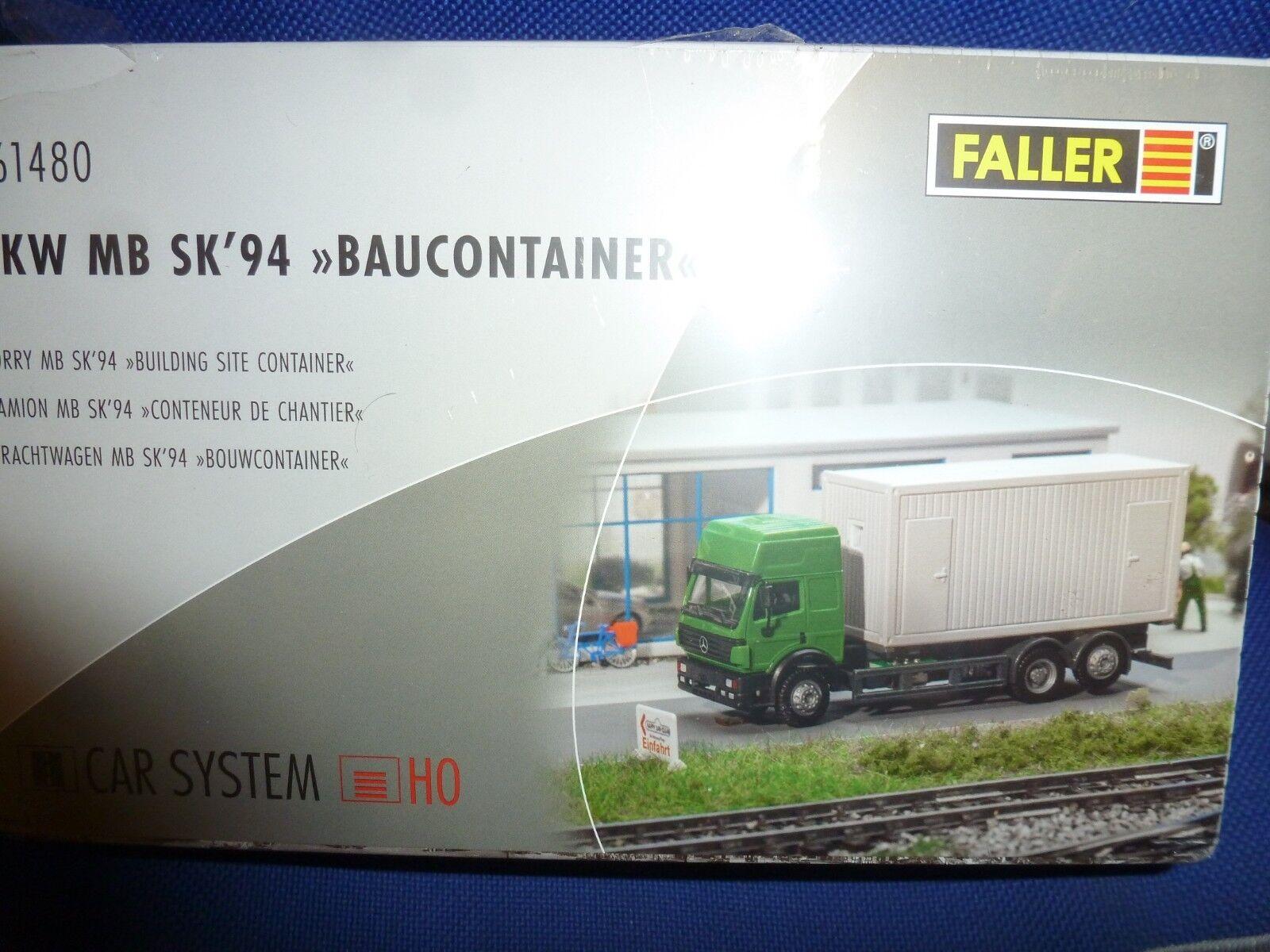 Con 100% de calidad y servicio de% 100. Faller Faller Faller Coche System nº 161480 camiones mb`94 prefabricados,  genuina alta calidad