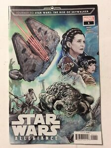 STAR-WARS-ALLEGIANCE-1-2-The-Rise-Of-Skywalker-Marvel-Comic-Book-2019-NM