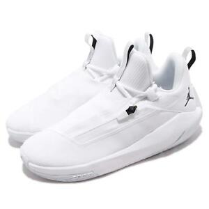 d75c242ab63a60 Nike Jordan Jumpman Hustle PF White Black Men Basketball Shoe ...