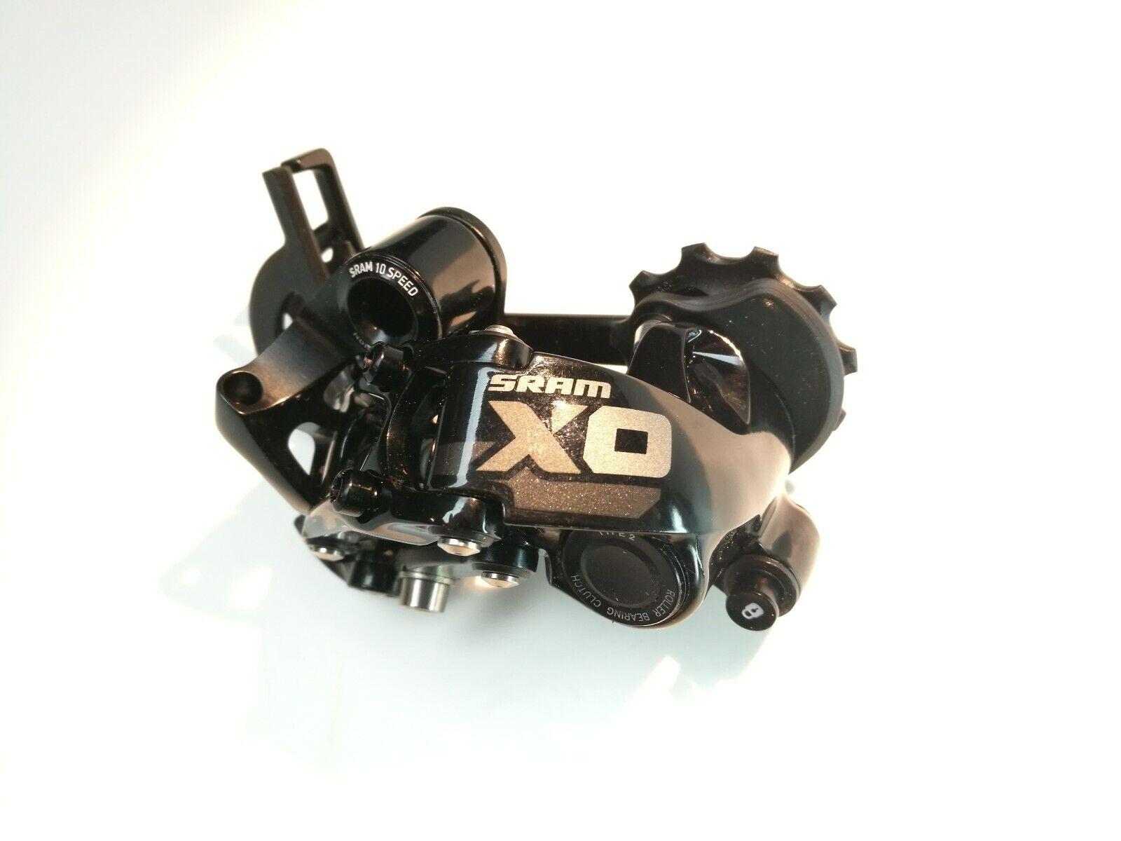 SRAM XO Type 2 desviador trasero 10 Speed corto jaula