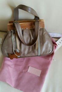 Radley-Leather-Bag-Vintage-Wooden-frame-Medium-Sand