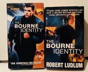 The Bourne Identity 2002 Film Vhs And Movie Tie In Paperback Matt Damon Ebay