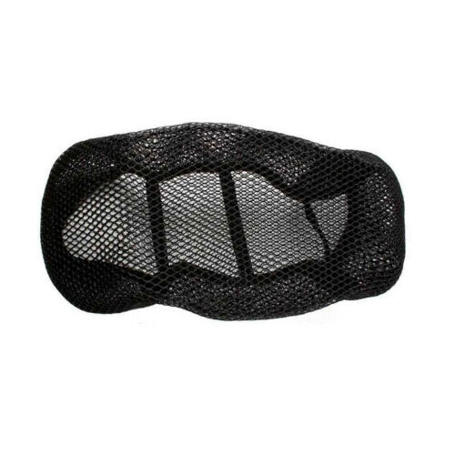 Black 3D Motorcycle Mesh Fabric Seat Cover Net Waterproof Heat insulation sleeve