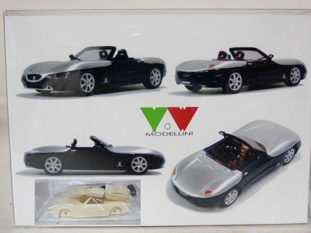1 Kit Car Model Handmade Resin Concept Pininfarina Vivo
