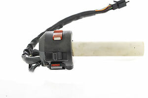 HONDA-VFR400-NC21-NC24-OEM-RIGHT-HAND-SWITCH-GEAR-AND-THROTTLE-TUBE