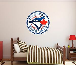 Image is loading Toronto-Blue-Jays-MLB-Baseball-Wall-Decal-Decor- & Toronto Blue Jays MLB Baseball Wall Decal Decor For Home Car Laptop ...