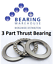 3 PART THRUST BEARING 51200-51210 51200 Series