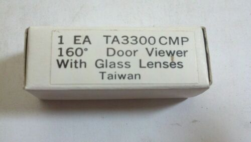160 Degree Peephole Door With Glass Lenses TA3300CMP