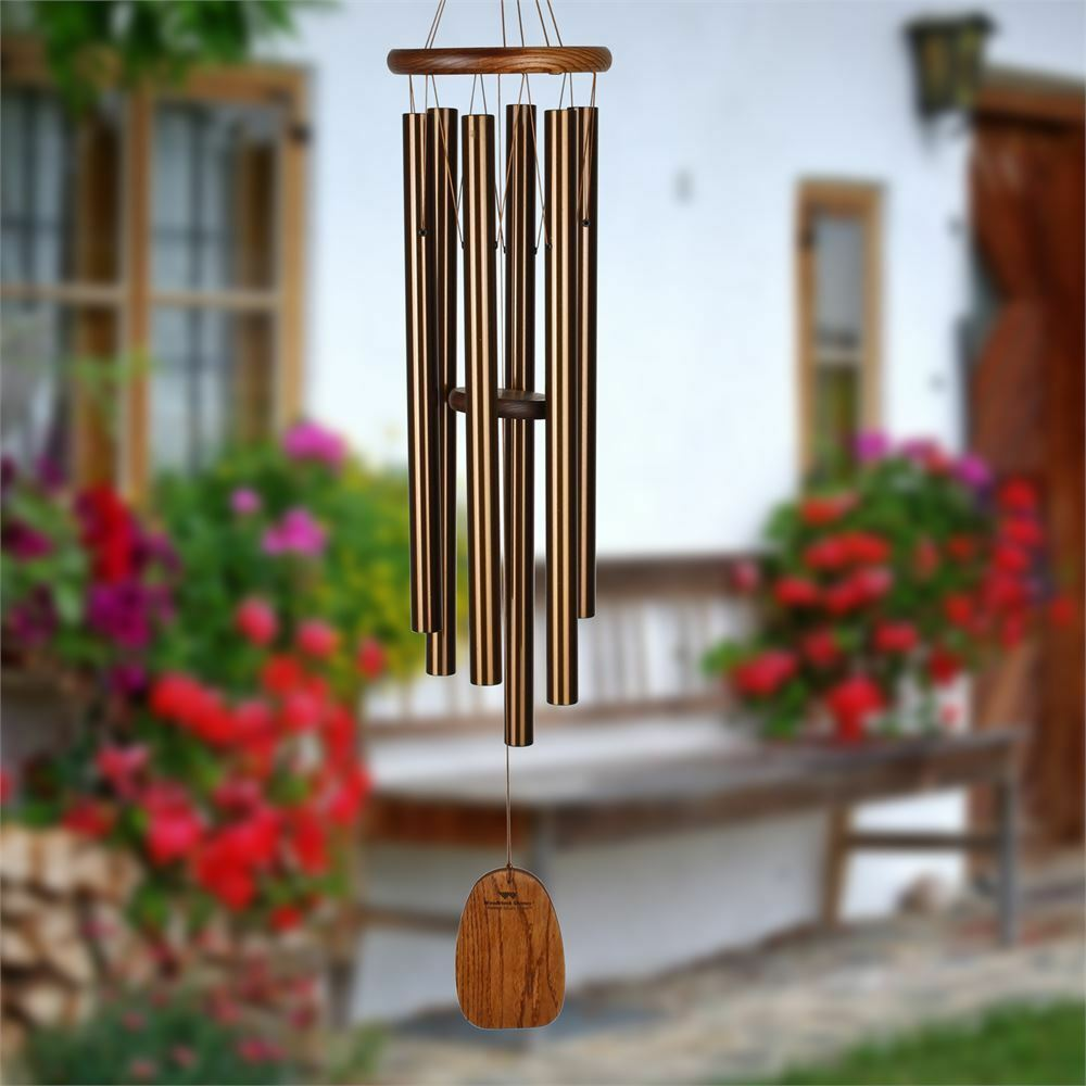 WOODSTOCK CHIMES - Amazing Grace Chime - Large Bronze - ACLBR