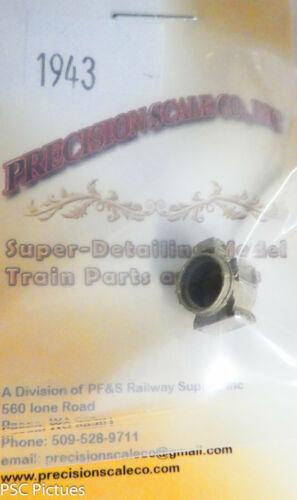 Precision Scale O #1943 Headlight Arc Type Brass Casting Style 3