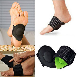 0a31cfb54b 1 Pair Flat Foot Arch Support Heel Pain Relief Cushion Plantar ...