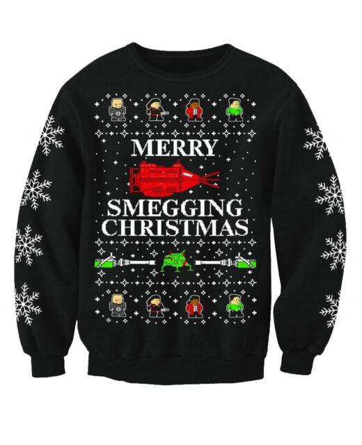 54b20a38fa3 Red Dwarf Inspired Adults Novelty TV Christmas Sweatshirt Jumper Xx ...