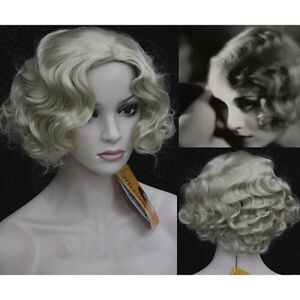 Marilyn Monroe Curly Wig Cosplay Hair Full Wigs Hot Style Fashion ... ded25b3f5b09
