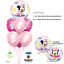 Baby-Mickey-Minnie-Mouse-1st-Birthday-Balloons-Party-Baby-Shower-Helium-Qualatex thumbnail 5