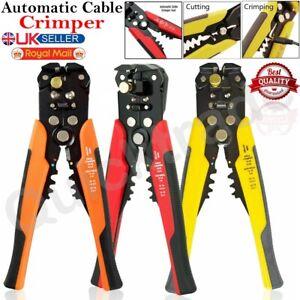 Automatica-Ajustable-Herramienta-que-prensa-cortador-de-cable-de-alambre-arrugador-Stripper-alicates