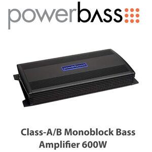 Details about Powerbass ASA3 600 1 - 1 Channel Class-A/B Monoblock Bass  Amplifier 600W BNIB