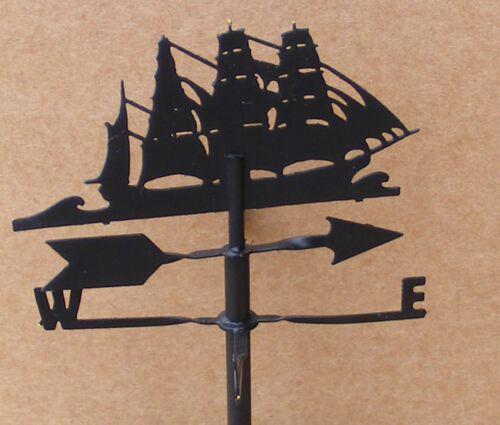 SCALA 1:12 Black Metal One Piece Nave banderuola tumdee Casa delle Bambole Accessorio