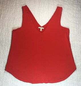 283b21709a BORDEAUX SZ PS Top Stretch Tank Double V Neck Sleeveless Shirt | eBay