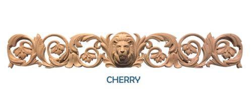 "Over 32/"" long Applique Lion Head Horizontal Decor"