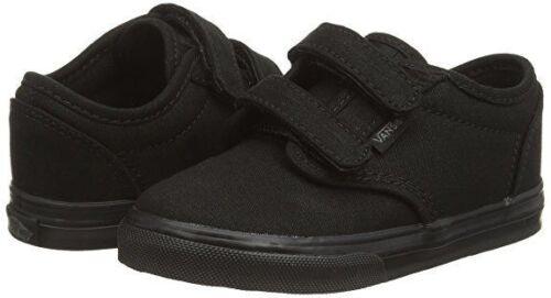 Double Enfants Vans Sangle Authentique Noires Enfants Bbs Toile Chaussures Tout q88RAgvw