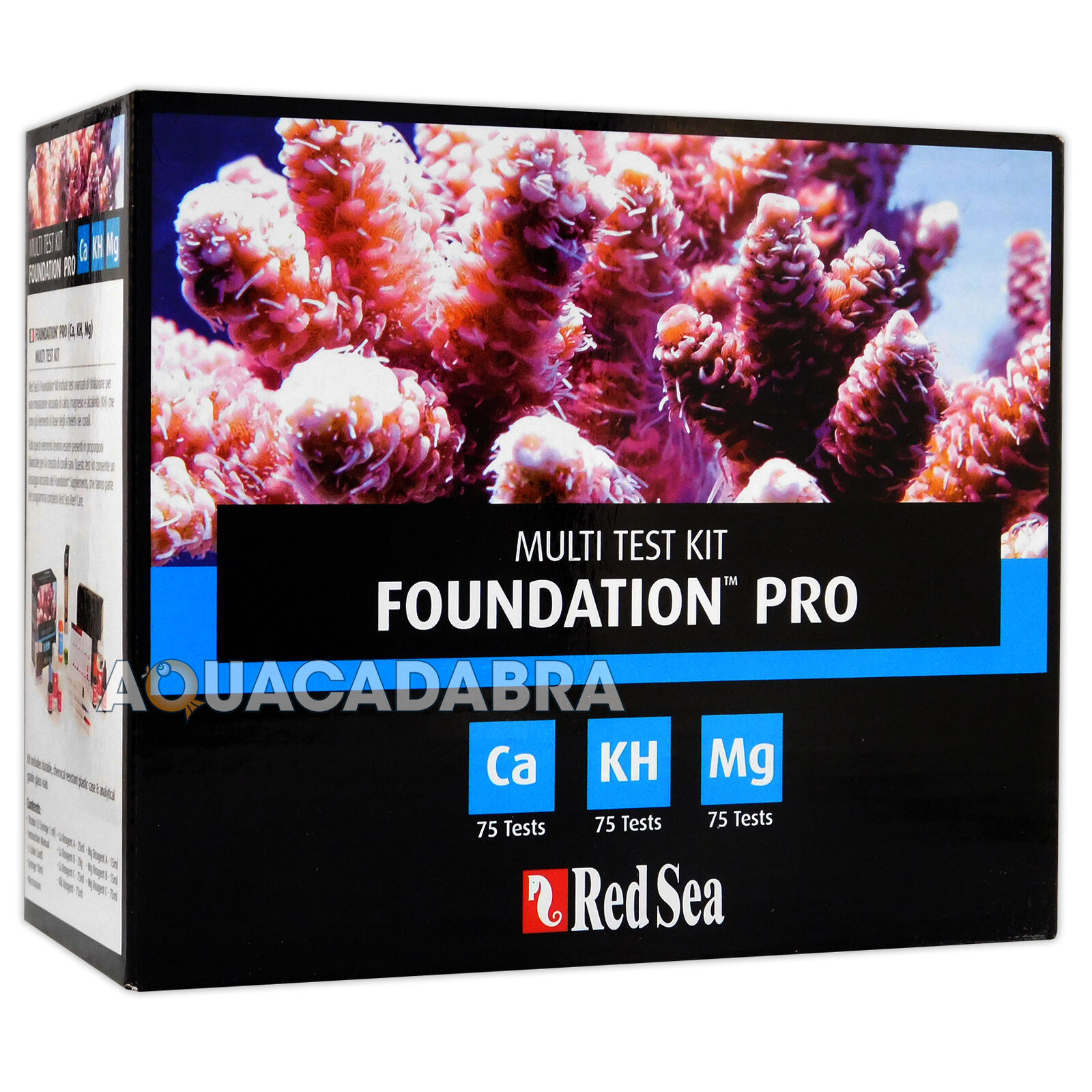 Red Red Red SEA Reef Foundation PRO test Kit Multi Ca Mg KH ACQUARIO MARINO ACQUARIO 05b352