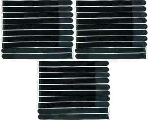 10 x Stretch Velcro Fascette per cavi in velcro fascette per cavi in velcro 30 Cm Elastico