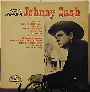 Johnny-Cash-034-Now-Here-039-s-Johnny-Cash-034-1961-Sun-Records-Vinyl-LP-EX-VG