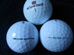 20-WILSON-STAFF-034-DX2-SOFT-034-PRE-2018-MODELS-Golf-Balls-034-PEARL-A-034-Grades