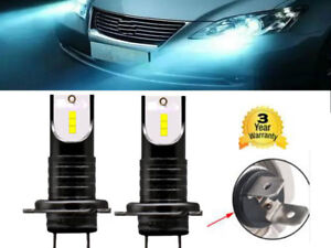 2X-H7-Canbus-LED-anti-erreur-Ampoule-Voiture-Feux-Phare-Lampe-110W-Xenon-Blanc