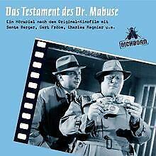 Das Testament des Dr. Mabuse   Buch   Zustand sehr gut