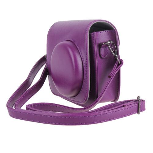 Protector Cover Pouch Strap PU Leather Instax Mini 8 Polaroid Bag Camera Case