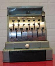 * 1950's Child Tom Thumb Tin Cash Register w/ Safe Drawer Western Stamping Co.