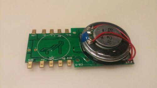 No return HO diesel sound decoder for  proto2000 PA E8 E9