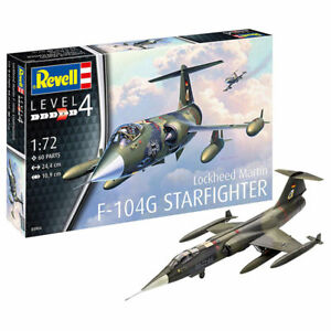 REVELL-F-104G-Starfighter-1-72-Aircraft-Model-Kit-03904