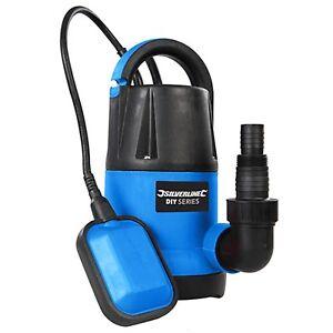Submersible Pompe à eau rapide 250 W 5000 litres-hr Flow Silverline À faire soi-même-afficher le titre d`origine Dbs4Wxab-07184422-479126195