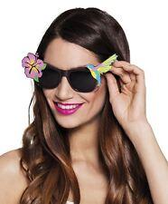 Adults Paradise Hawaiian Sunglasses Shades Summer Festival Party Fancy Dress
