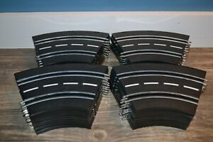 ARTIN 1/43 SCALE SLOT CAR TRACK SHORT CURVED LOT OF 32 SECTIONS
