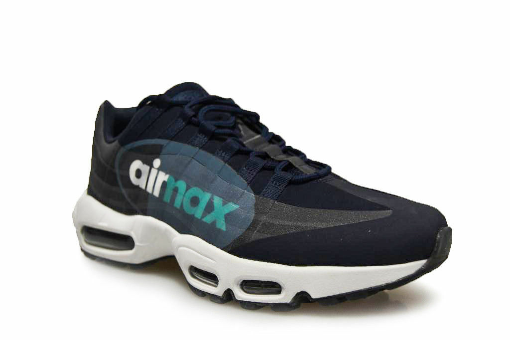 Nike Air Max 95 NS GPX SP  Uomo Casual Shoes Obsidian/White/Slate AJ7183400 10.5