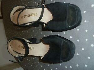 Chaussures noires talon 38