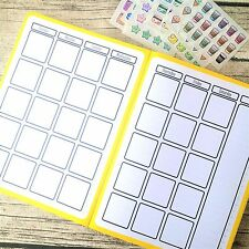 Month at a glance two page journal calendar, Bullet journal calendar, Blank