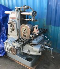 Horizontal Mill With Dividing Head Amp 3 Jaw Chuck Kearney Amp Trecker Model H Milling